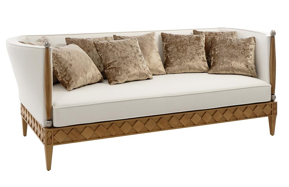 elegantes sofa von philipp selva home auf. Black Bedroom Furniture Sets. Home Design Ideas