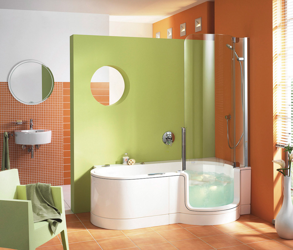 Kombination aus Dusche & Badewanne von Artweger auf DECO.de
