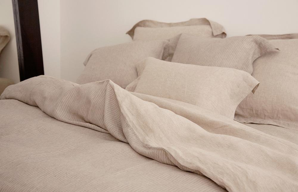 zeitlose leinen bettw sche von libeco auf. Black Bedroom Furniture Sets. Home Design Ideas