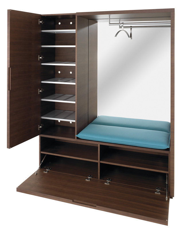 garderobe cabin von ch nbuch auf. Black Bedroom Furniture Sets. Home Design Ideas