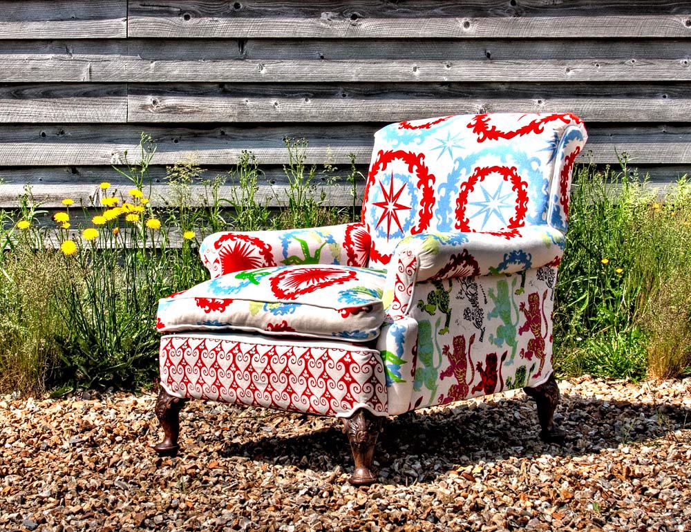 Sessel hoop von corita rose auf for Sessel 80 breit