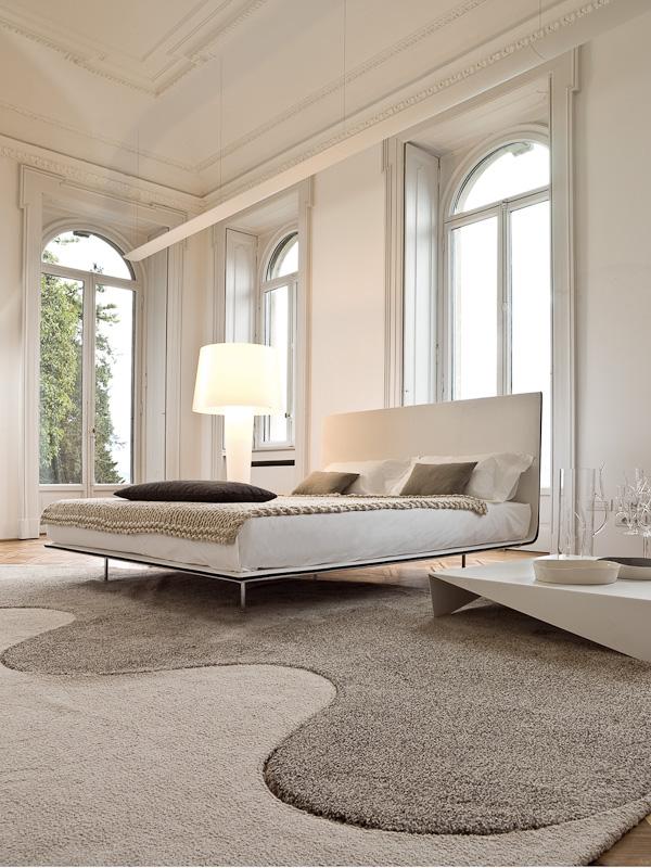 reizend interessant wohnideen schlafzimmer puristische wandfarbe, Wohnideen design