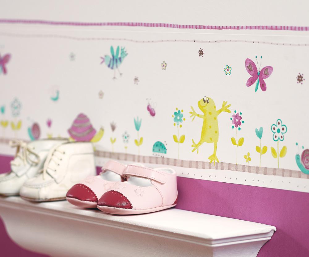 """Casadeco Tapeten Kinderzimmer : Tapete """"Garden"""" f?r Kinder von Casadeco auf DECO.de"""