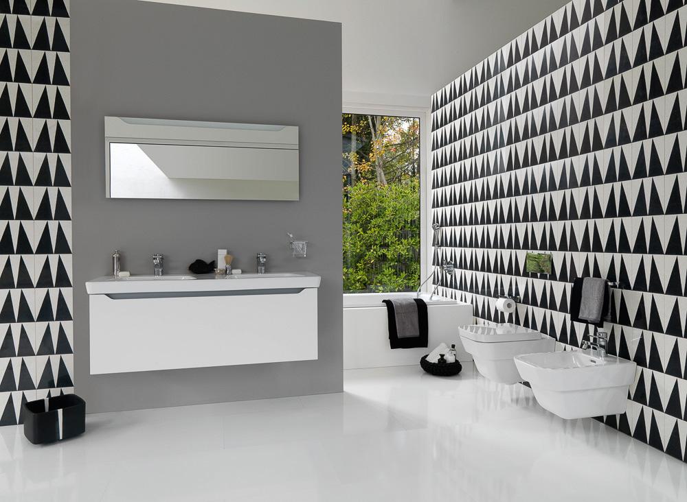 bad keramik modernaplus von laufen auf. Black Bedroom Furniture Sets. Home Design Ideas