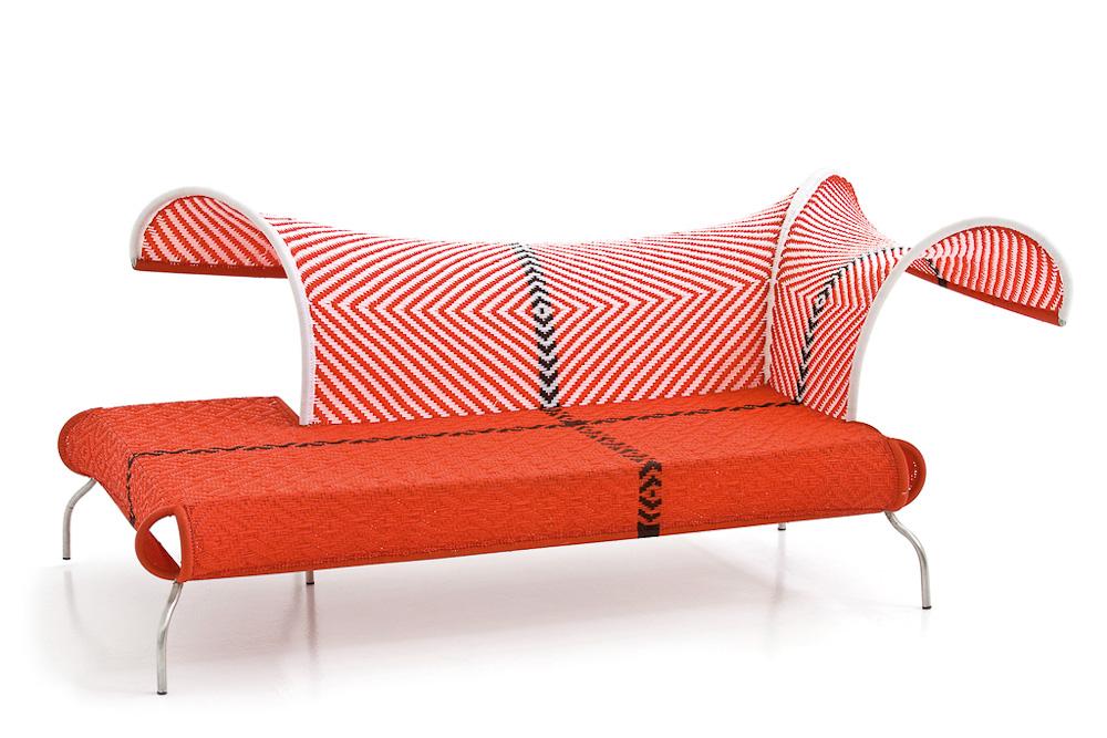 bank meridienne von moroso auf. Black Bedroom Furniture Sets. Home Design Ideas