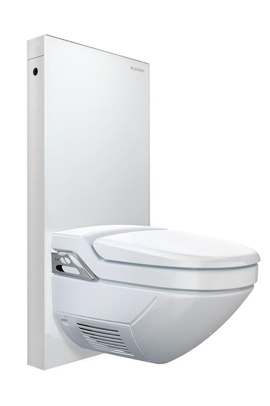Moderne Toilette Von Geberit Auf