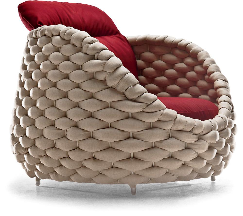 loungesessel von kenneth cobonpue auf. Black Bedroom Furniture Sets. Home Design Ideas