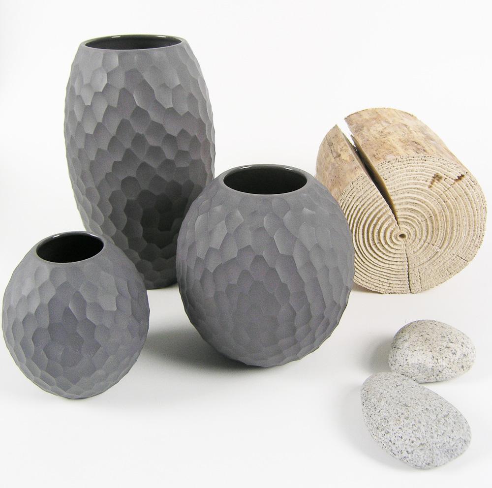 vase carve von asa auf. Black Bedroom Furniture Sets. Home Design Ideas