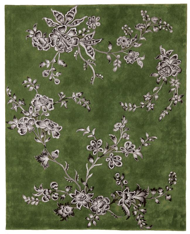 Floraler Teppich von Tai Ping Carpets auf DECOde