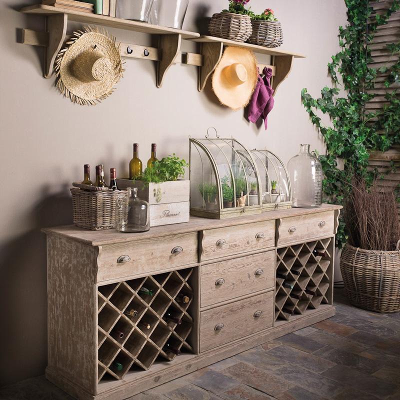 weinregal vino von flamant auf. Black Bedroom Furniture Sets. Home Design Ideas