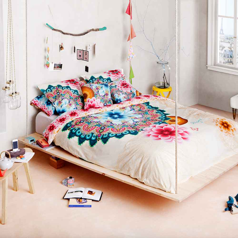 Bettw sche mandala von desigual home auf for Muebles hippies