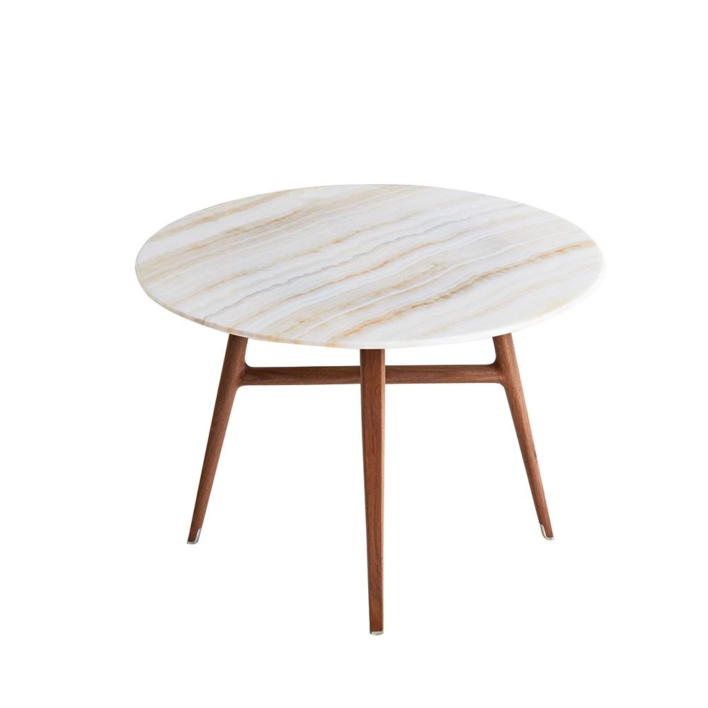 Beistelltisch von h rmes auf for Esszimmertisch mit marmorplatte