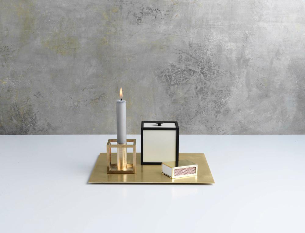 kerzenst nder cubus von by lassen auf. Black Bedroom Furniture Sets. Home Design Ideas