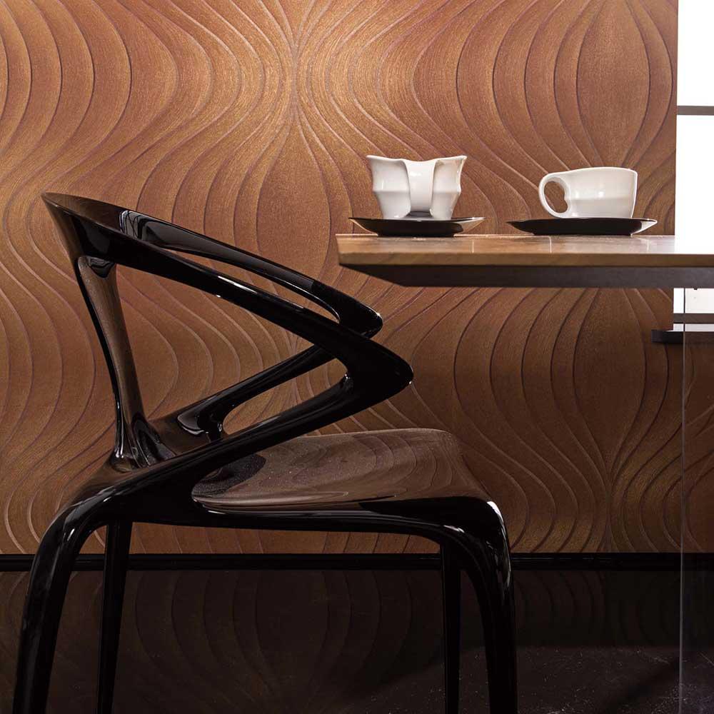 tapete evolution von der marburger tapetenfabrik auf. Black Bedroom Furniture Sets. Home Design Ideas