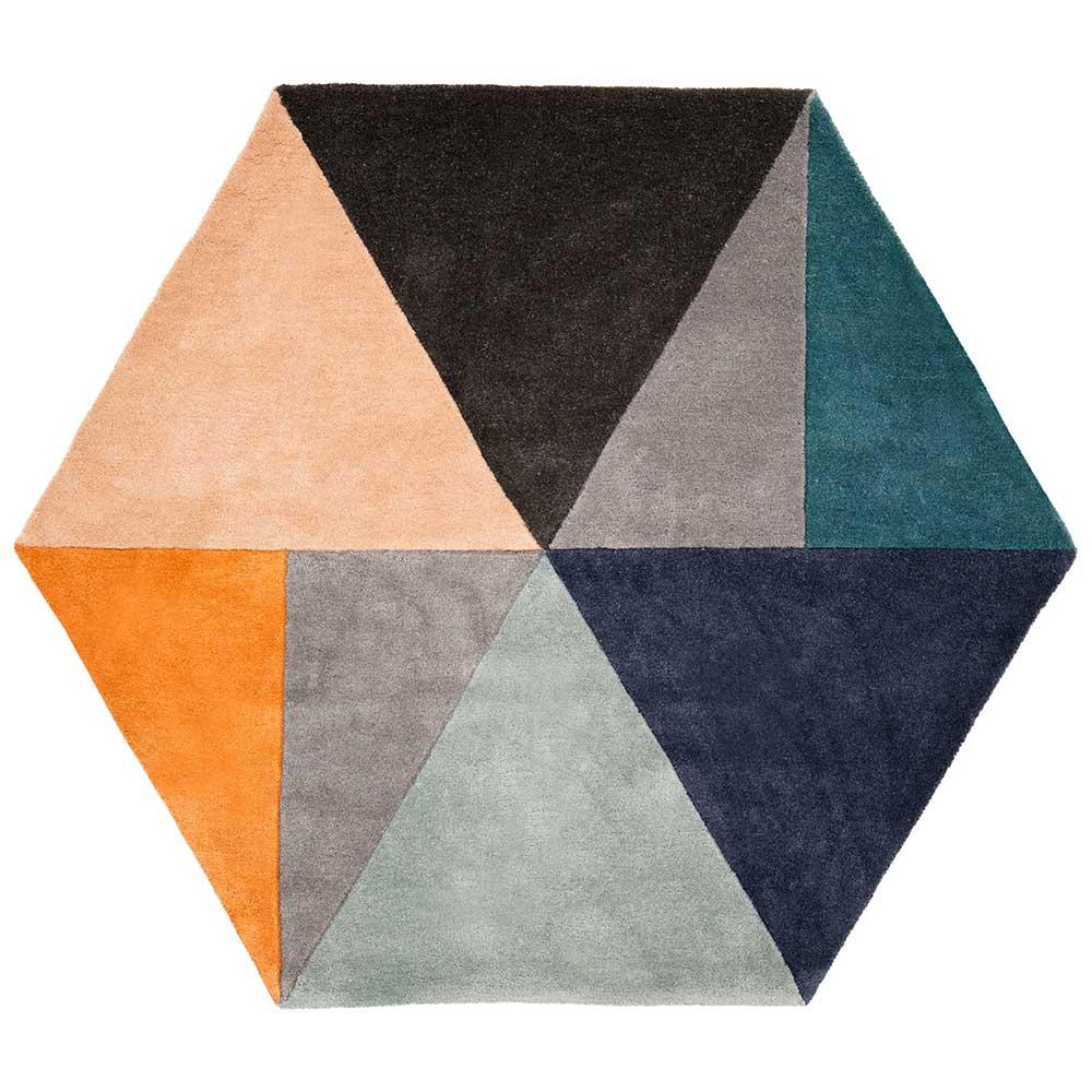 Teppich HEXA von Fashion for Home auf DECOde