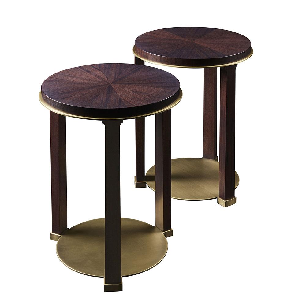 beistelltisch gambarossa von promemoria auf. Black Bedroom Furniture Sets. Home Design Ideas