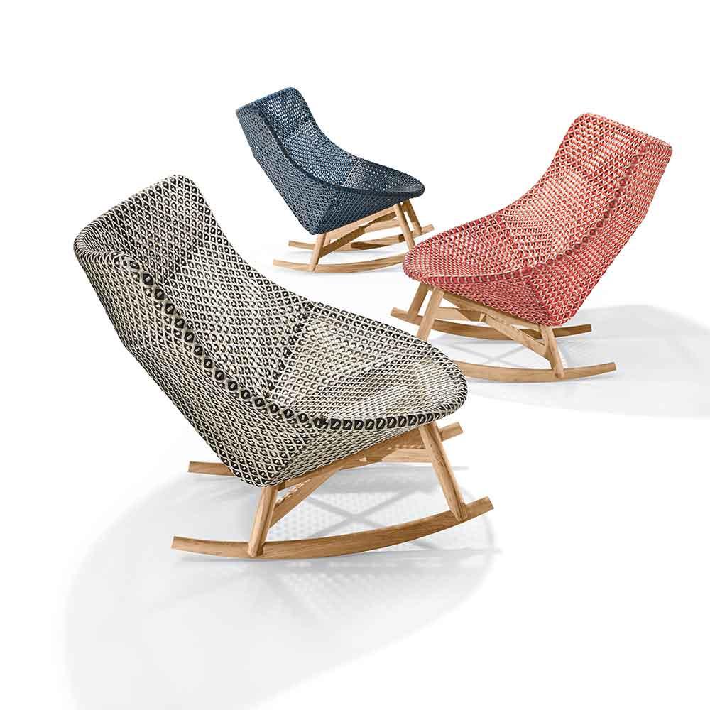 Outdoor Stuhl Rocking Chair Von Dedon Auf Deco De