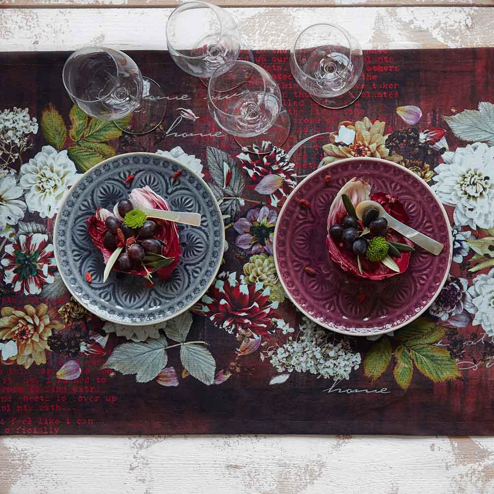 Castello Wohndesign: Herbstlicher Tischläufer Aus Der Kollektion INDIAN SUMMER