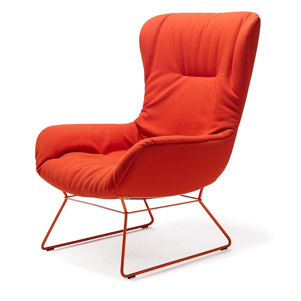 moderner sessel leya wingback von freifrau auf. Black Bedroom Furniture Sets. Home Design Ideas