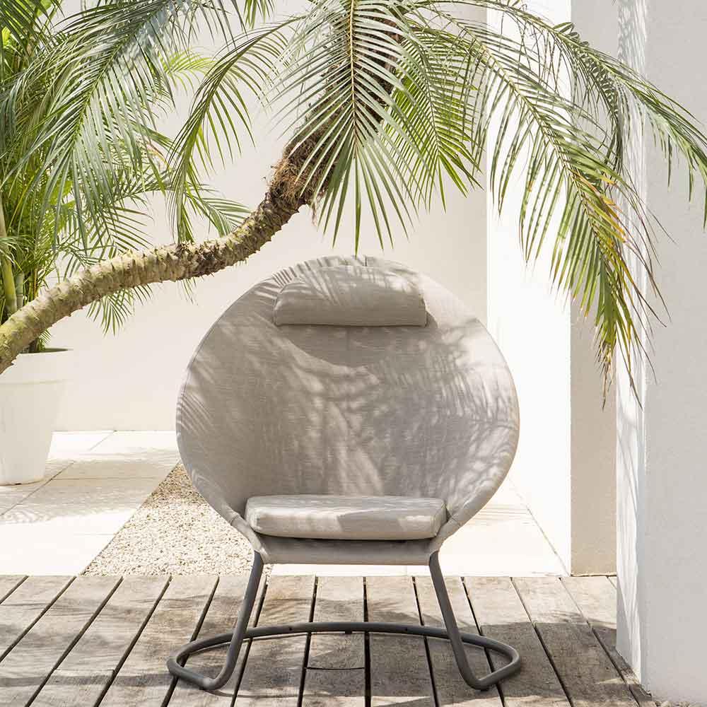sessel cocoon von lafuma auf. Black Bedroom Furniture Sets. Home Design Ideas