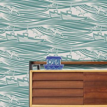 Tapete Whit by Lidolo von Mini Moderns