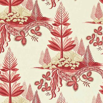 Tapete FIR TREES von Zoffany