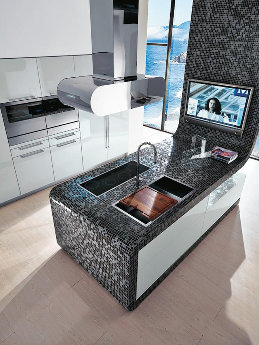 tv k che auf. Black Bedroom Furniture Sets. Home Design Ideas