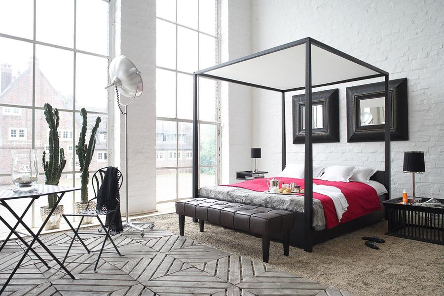 himmelbett arkadia und b nkchen peninsula von lambert gmbh auf. Black Bedroom Furniture Sets. Home Design Ideas