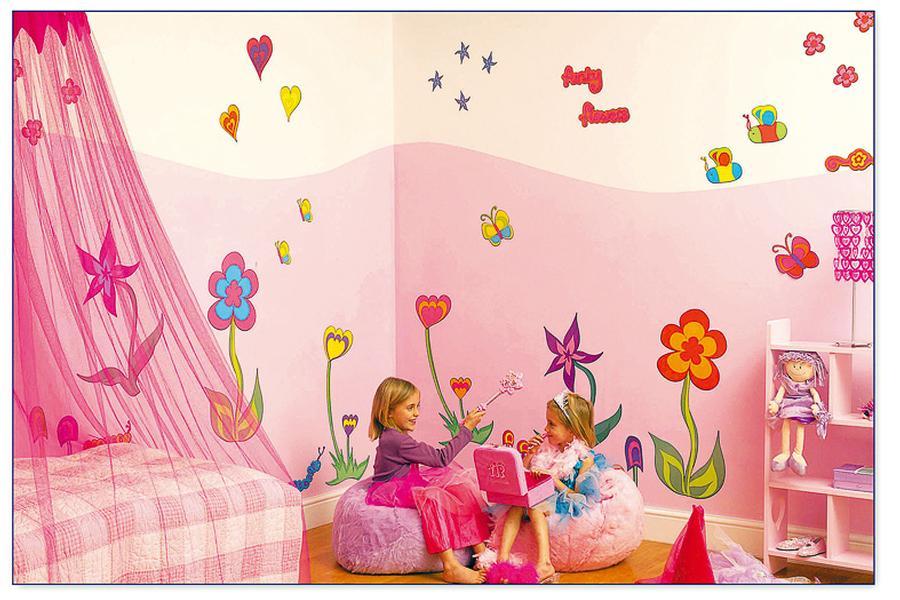 Bild: Imaginarium Bietet Schöne Aufkleber Zur Kinderzimmerdekoration