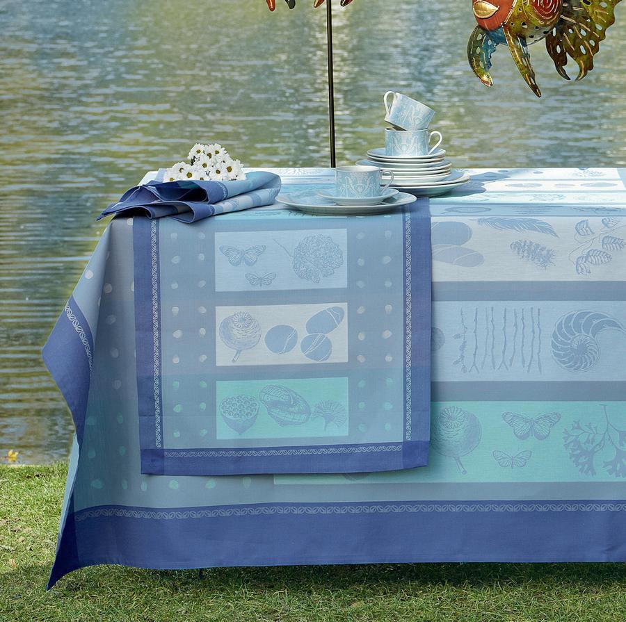 tischw sche serie maritime von sine tempore auf. Black Bedroom Furniture Sets. Home Design Ideas