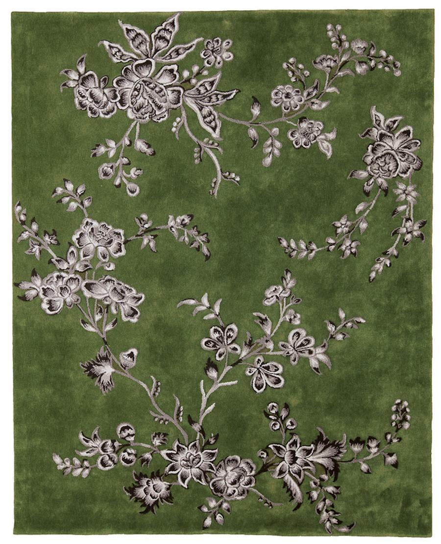 Floraler teppich von tai ping carpets auf for Wohndesign hirsch coburg