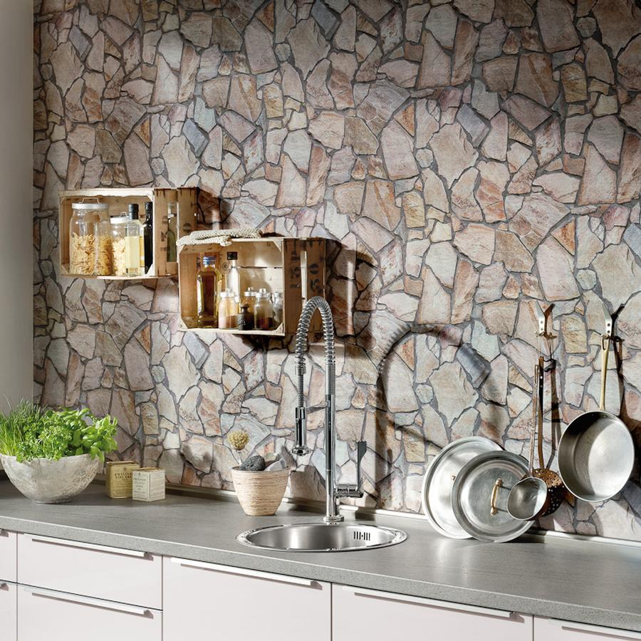 Stein tapete küche  Steintapete von A.S. Créations auf DECO.de