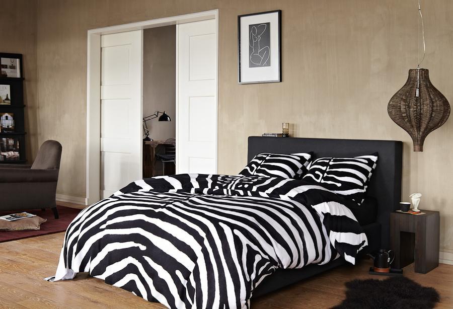 zebra bettw sche von essenza auf. Black Bedroom Furniture Sets. Home Design Ideas