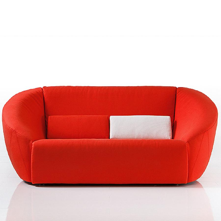 rotes sofa von br hl auf. Black Bedroom Furniture Sets. Home Design Ideas