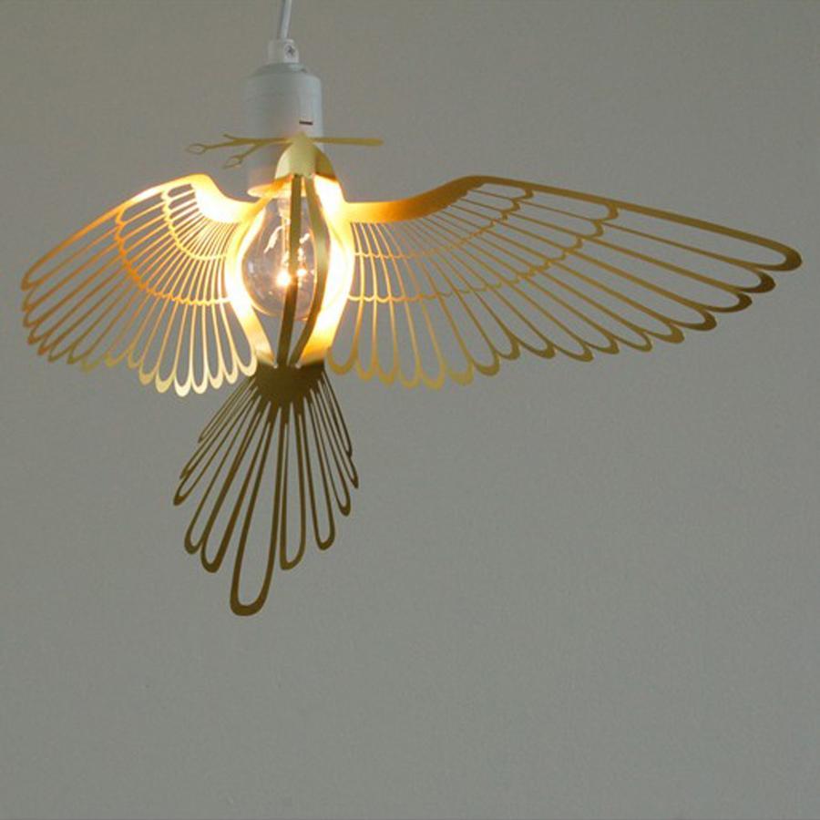 Leuchte bird von the collection auf for Deckenleuchte ausgefallen
