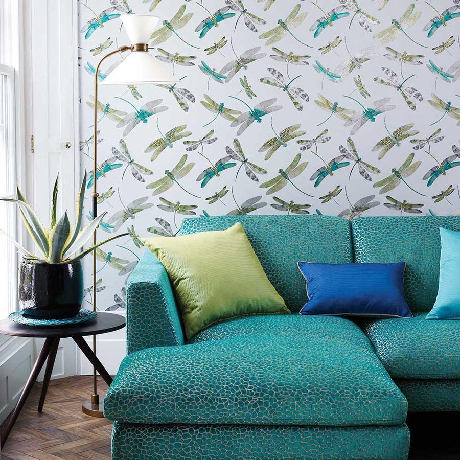 tapete dragon fly dance und stoff kairi aus der kollektion. Black Bedroom Furniture Sets. Home Design Ideas