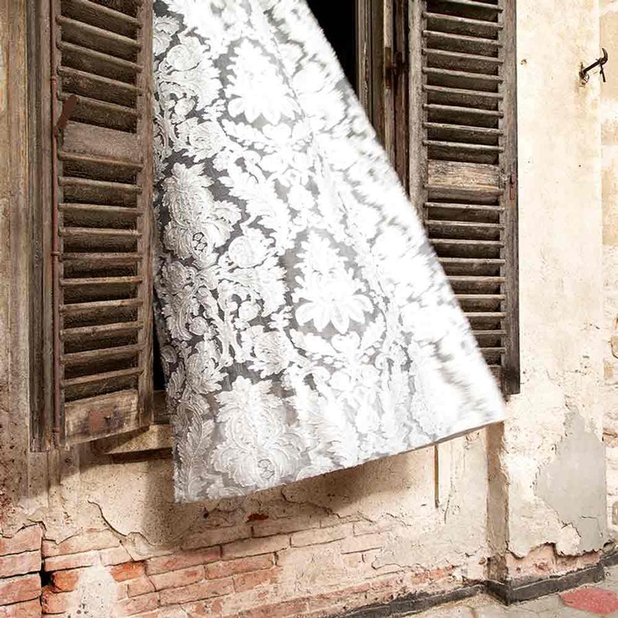 vorhangstoff madras von christian fischbacher auf. Black Bedroom Furniture Sets. Home Design Ideas