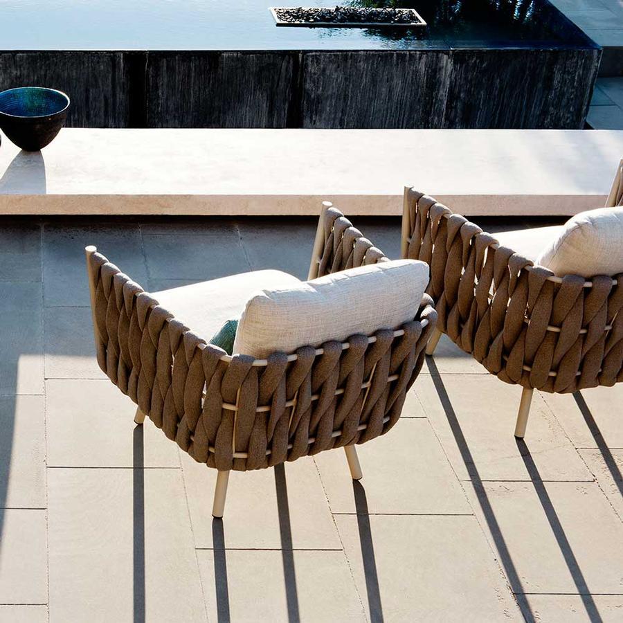 Gartenstuhl aus der Kollektion TOSCA von Tribù auf DECO.de