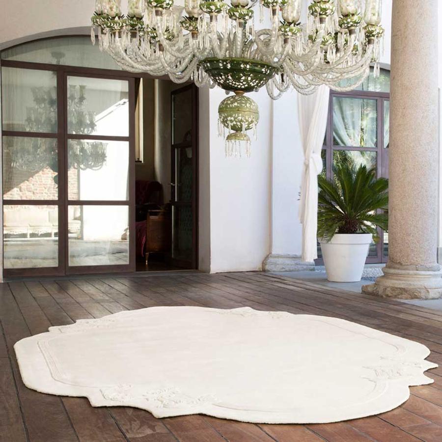 teppich stucco von christian fischbacher auf. Black Bedroom Furniture Sets. Home Design Ideas