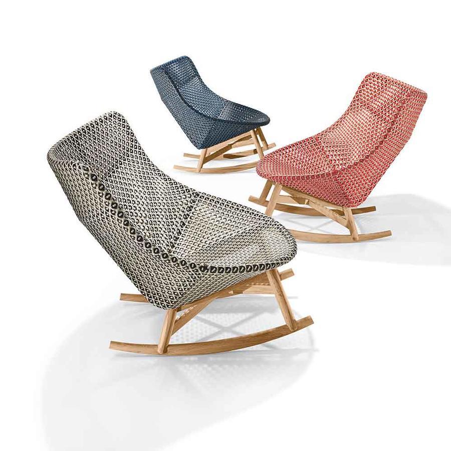 Outdoor-Stuhl ROCKING CHAIR von Dedon auf DECO.de