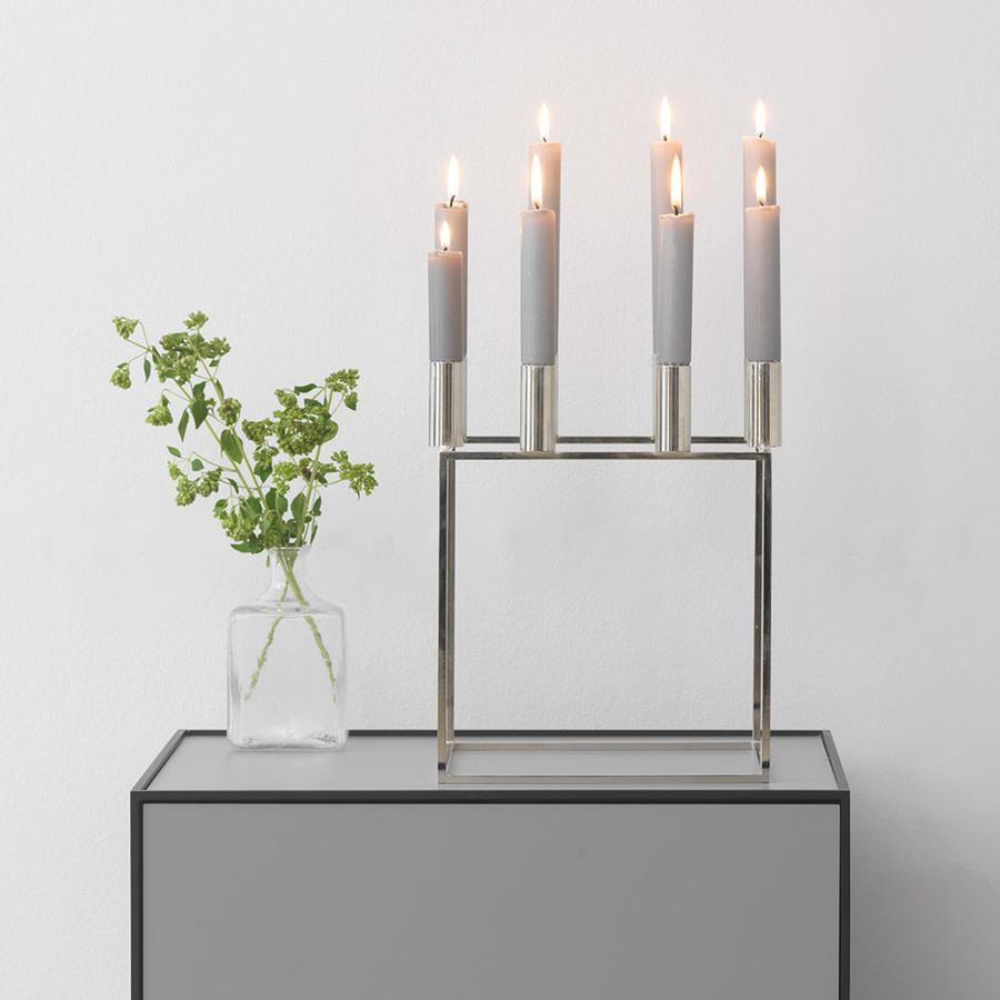 design kerzenst nder kubus von by lassen auf. Black Bedroom Furniture Sets. Home Design Ideas