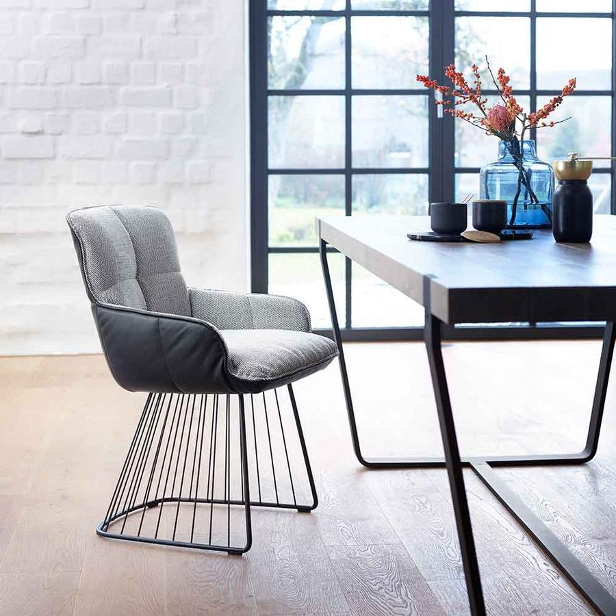 stuhl marla mit harfengestell von freifrau auf. Black Bedroom Furniture Sets. Home Design Ideas