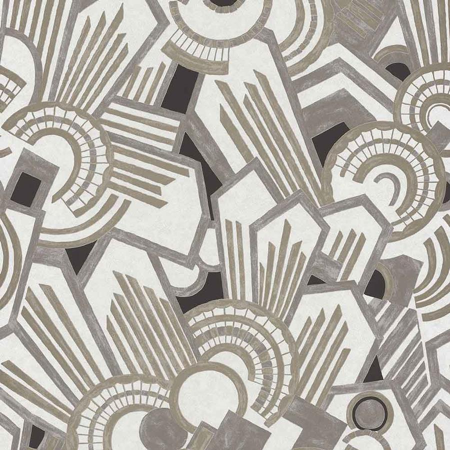 Art-déco Tapete ATMOS von Casamance auf DECO.de