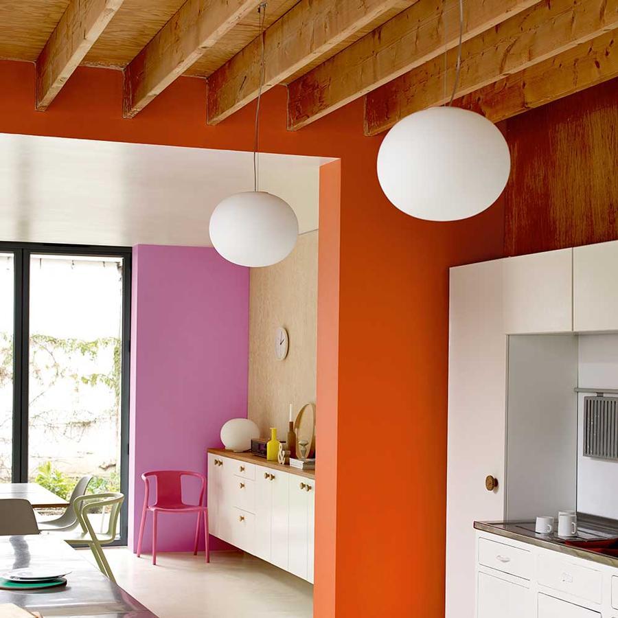 wandgestaltung mit farben von dulux auf. Black Bedroom Furniture Sets. Home Design Ideas