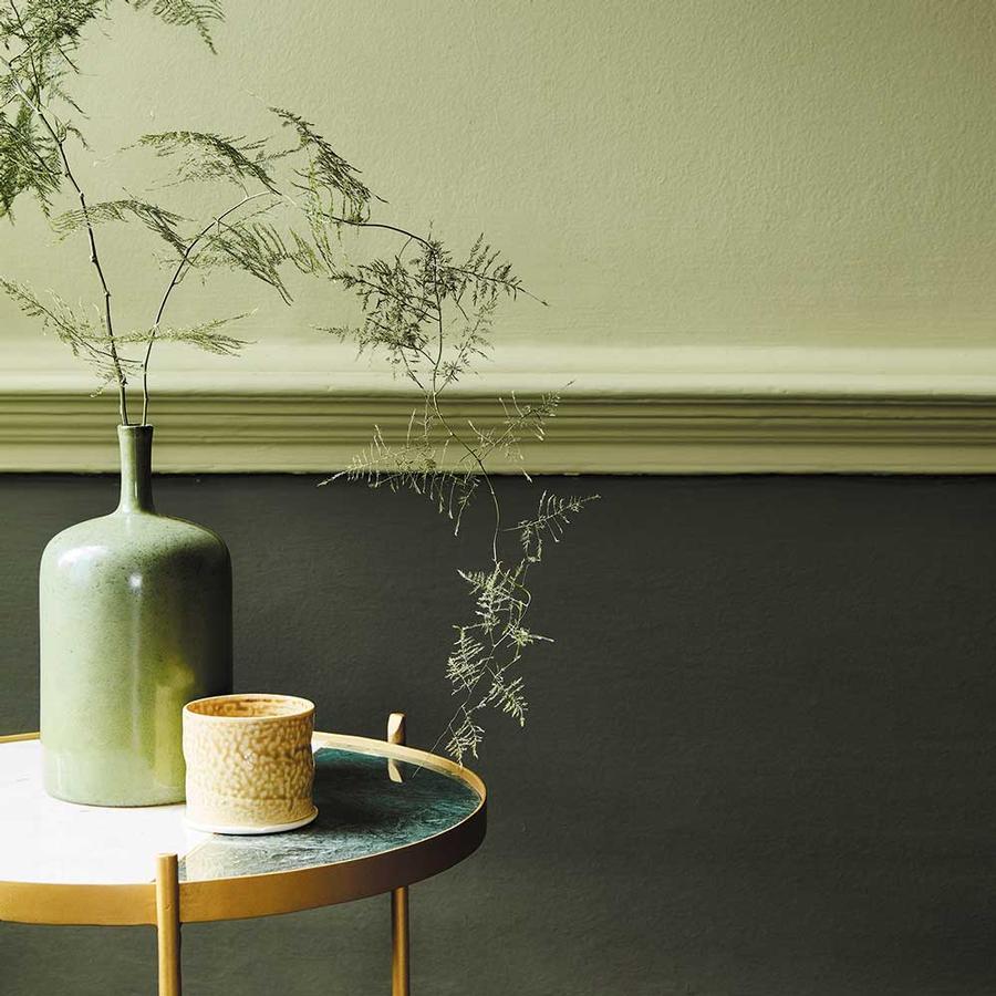 wandfarben in gr n von little greene auf. Black Bedroom Furniture Sets. Home Design Ideas