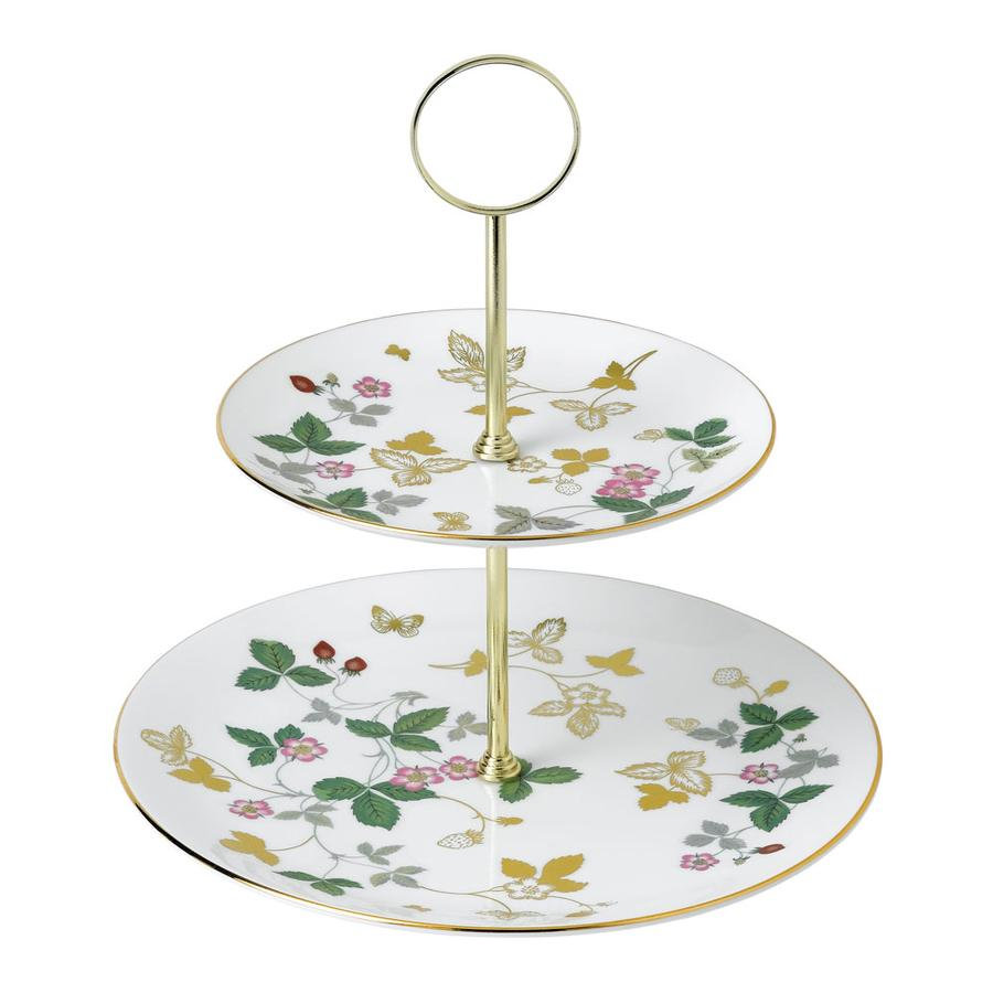 Bild: Etagere WILD STRAWBERRY von Wedgwood